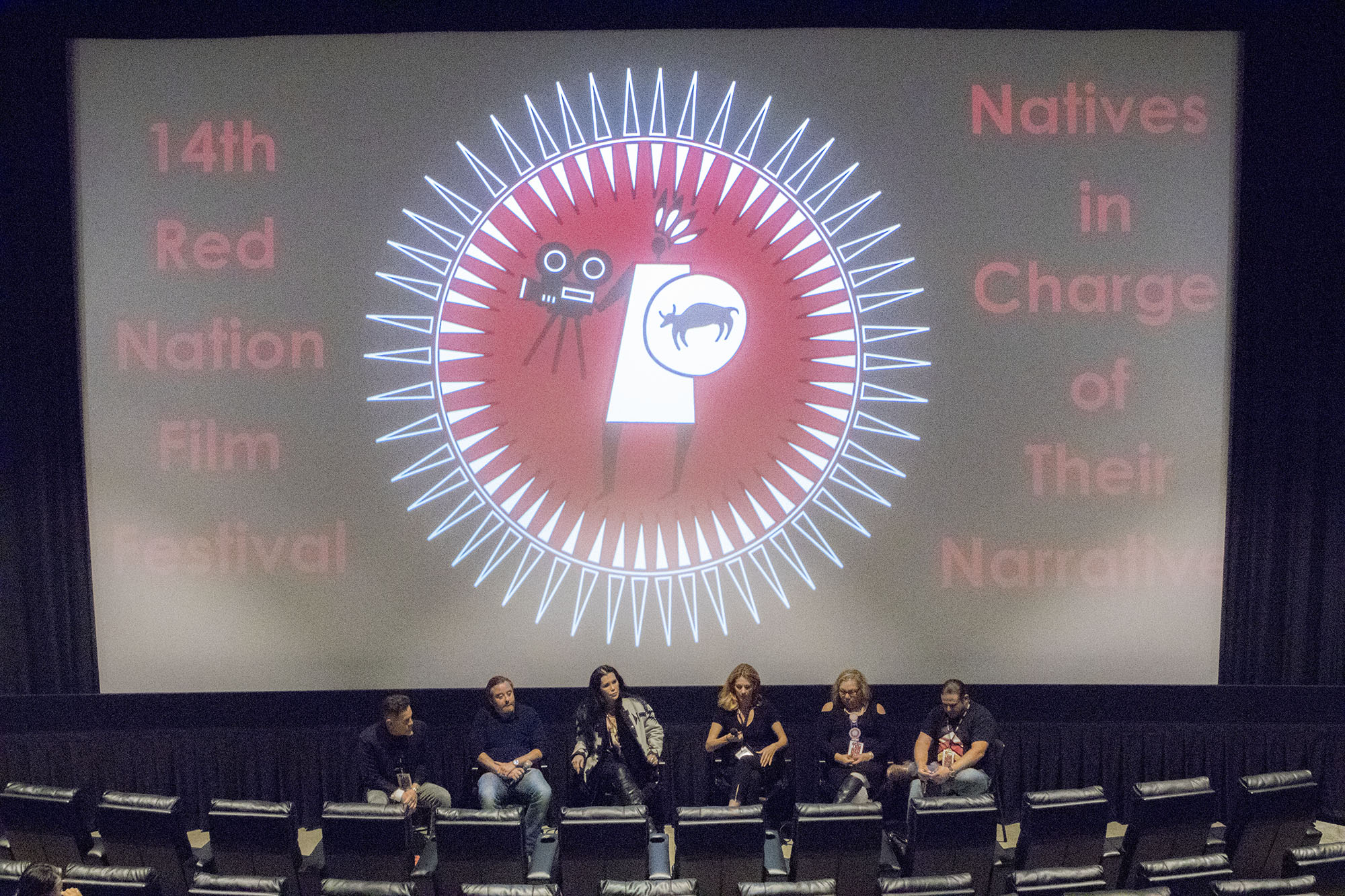 Red Nation Film Festival -NATIVES IN CHARGE OF THEIR NARRATIVE on Tuesday, November 14, 2017 at Laemele Monica Film Center Screening of Open Season (short) and Wind River.