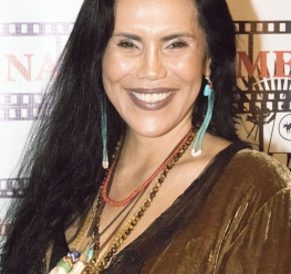 Red Nation Film Festival -NATIVES IN CHARGE OF THEIR NARRATIVE on Tuesday, November 14, 2017 at Laemele Monica Film Center Screening of Open Season (short) and Wind River. Red Nation Founder - Joanelle Romero