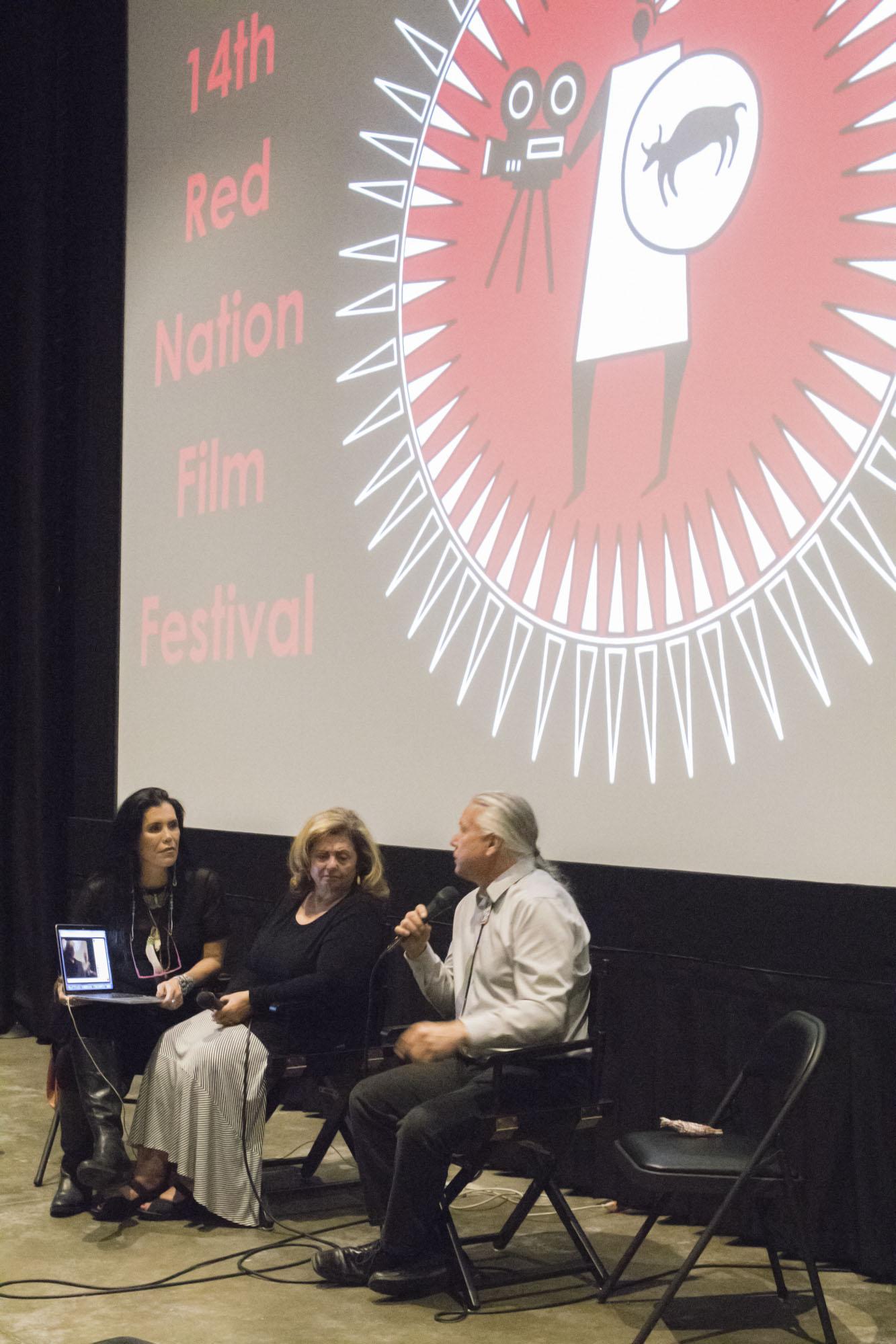 Red Nation Film Festival 2017 November 16, 2017 Laemmle, Santa Monica, CA. Photography by: Jesse Watrous Photography and Media Photographers: Jesse M. Watrous, Sam Moszkowicz
