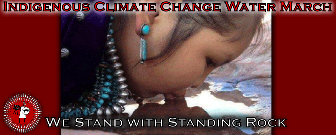 Indigenous Climate Change Water March