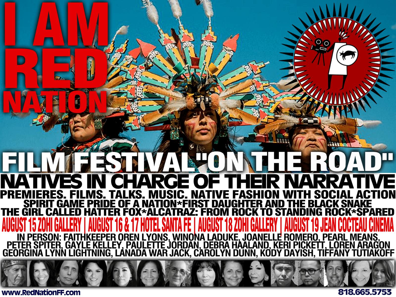 I AM RED NATION Poster Landscape V8