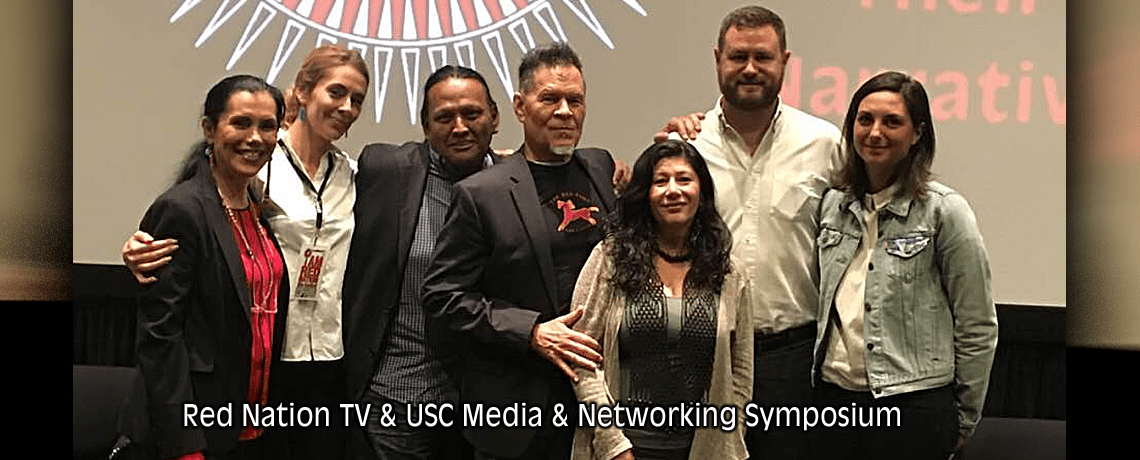 Red nation TV & USC Networking