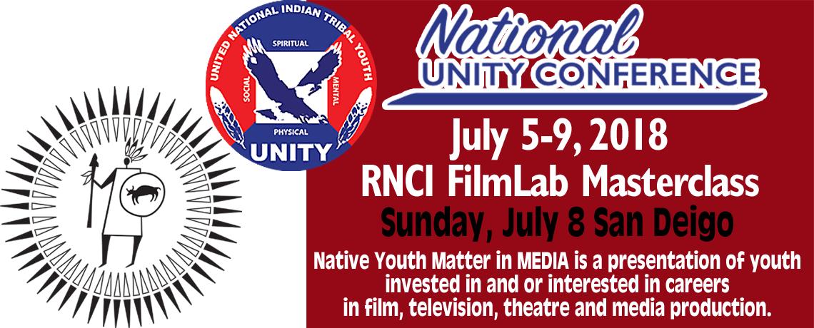 RNCI & UNITY Masterclass Native youth