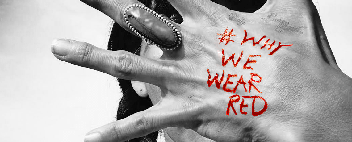 Why We Wear Red Hand