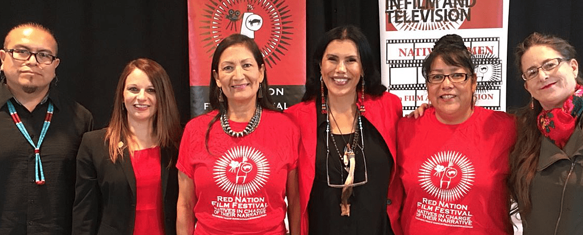 Why We Wear RED press conference 2018 santa fe