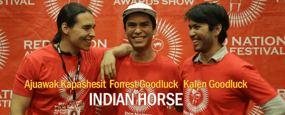 Indian horse santa fe red carpet