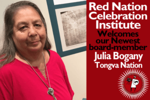 New member Julia Bogany