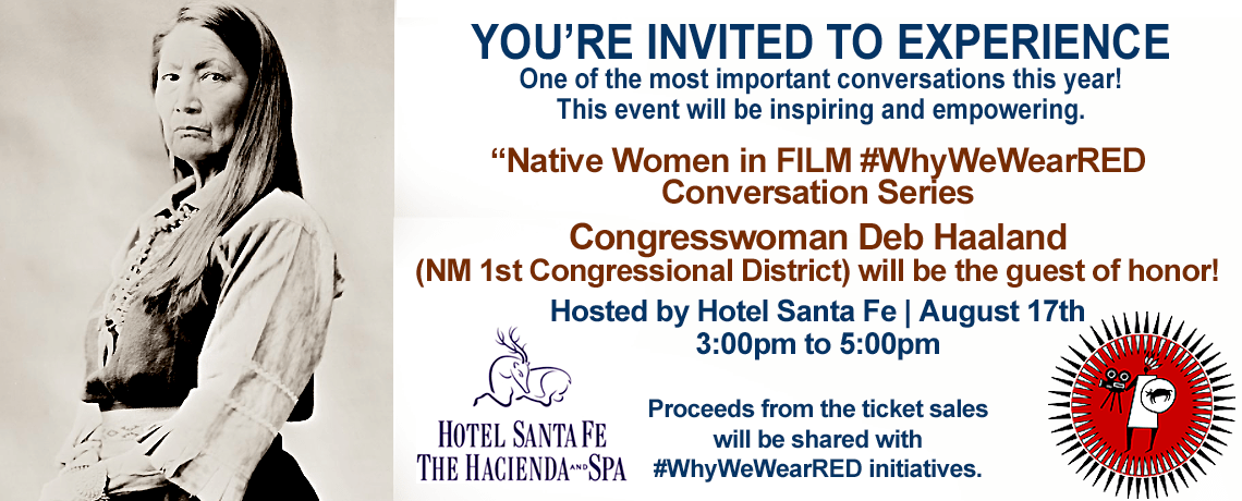 Native Women in FILM #WhyWeWearRED Conversation Series