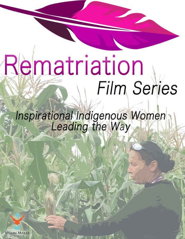 Rematriation Magazine Indigenous Women's Voices: Matika Wilbur Film Poster