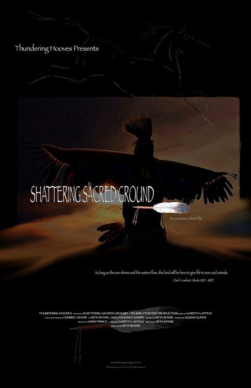 Shattering Sacred Ground Film Poster