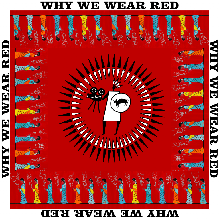 Why We Wear Red Scarf