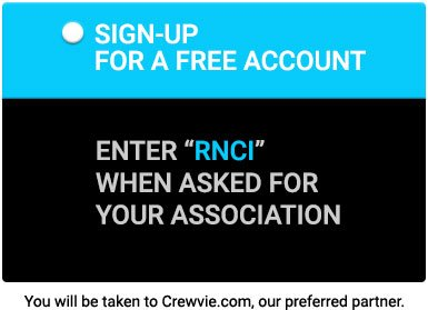 Button to Crewvie Signup