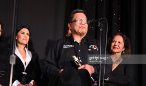 BEVERLY HILLS, CALIFORNIA - NOVEMBER 15: Chief Phillip Whiteman, Jr. at the 24th RNCI Red Nation International Film Festival and Awards Ceremony on November 15, 2019 in Beverly Hills, California. (Photo by Araya Diaz/Getty Images for Red Nation Film Festival)